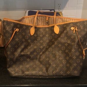 Authentic Louis Vuitton Neverfull GM bag